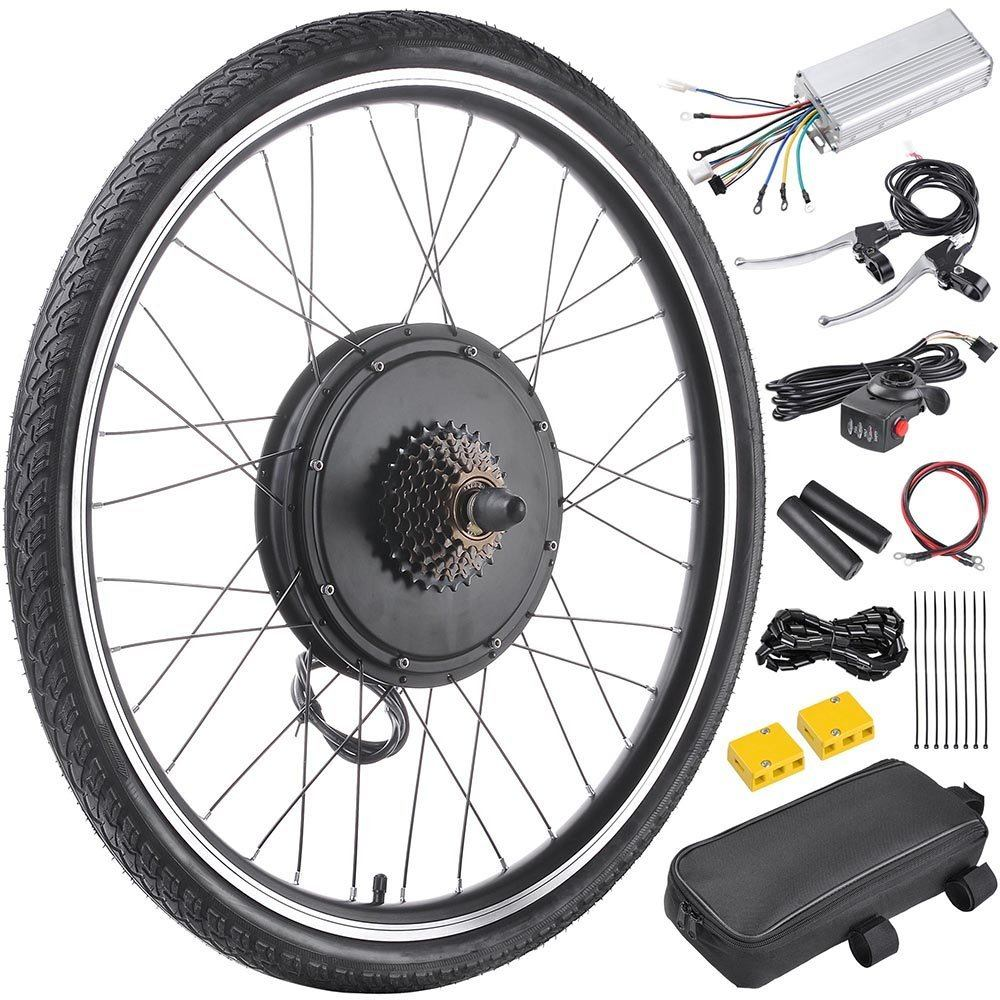 Reviewing the top 5 electric bike conversion kits 2017 for Electric bike rear hub motor