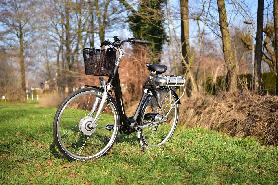 Bike Nature E-bike Photo Stand Ebike Landscape