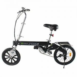 Goplus Folding Electric Bicycle Lightweight Portable Sport Bike Lithium Battery