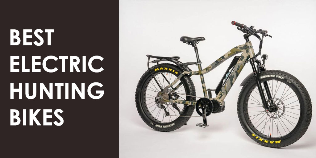 Best Electric Mountain Bike >> The Best Electric Hunting Bikes Bring On The Wild