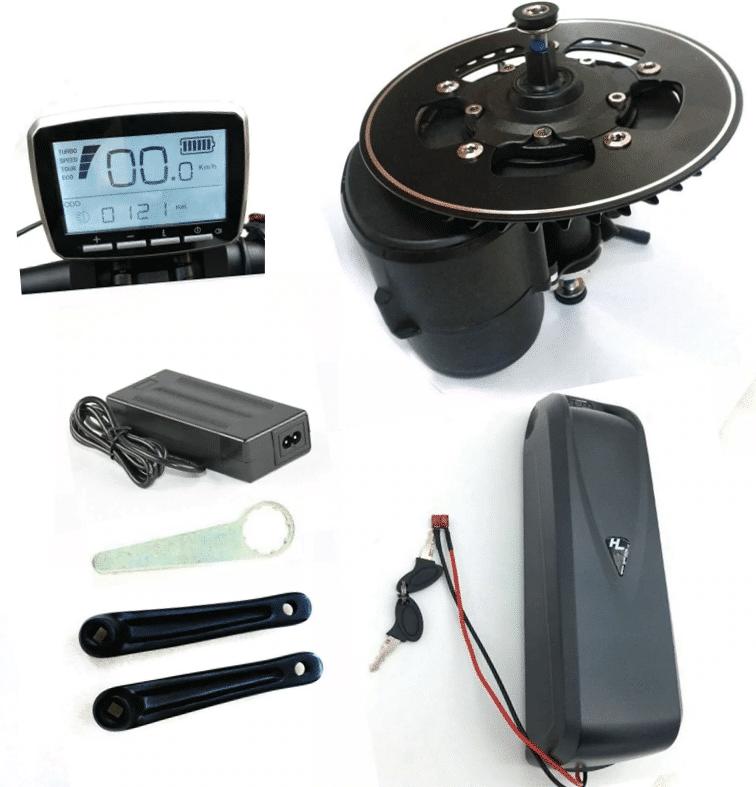 Tongsheng TSDZ2 Mid Drive Motor Conversion Kit