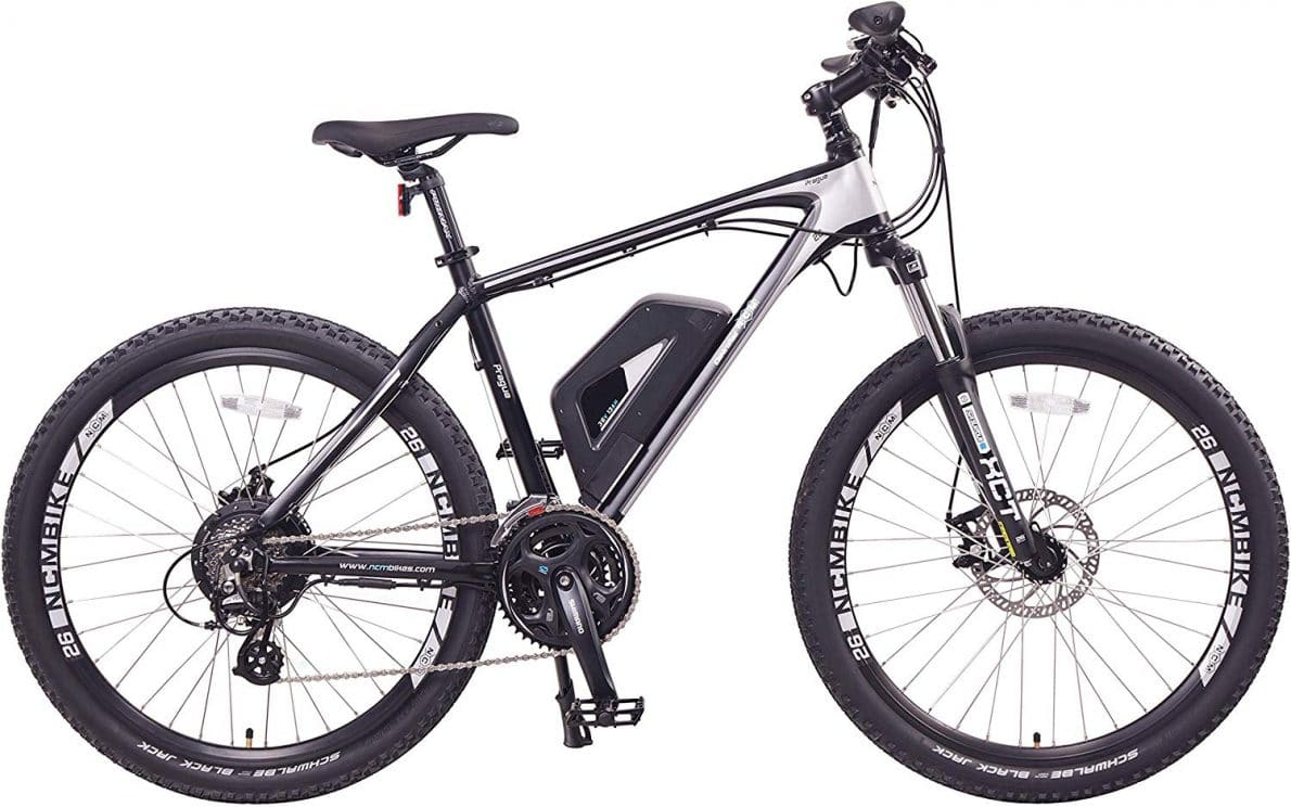 best electric mountain bike for 2020/20 - NCM Prague Electric Mountain Bike 468Wh 36V/13AH