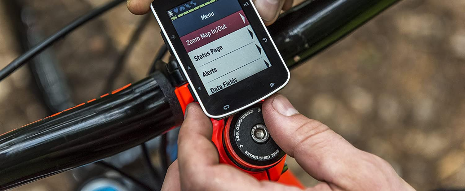 Electric Bike Controller in the hands of a man