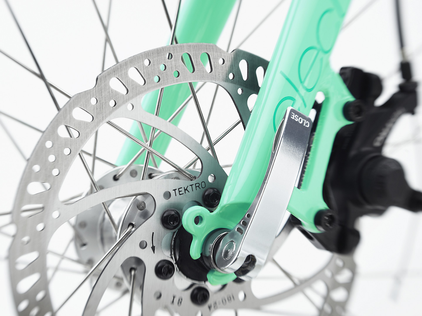Bicycle gear of a mint bike