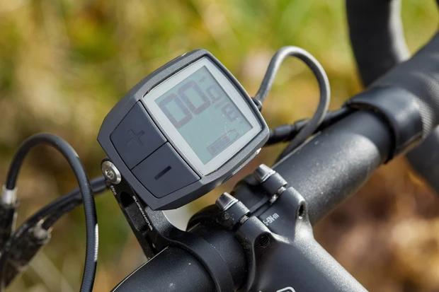 Bike controller on the bike