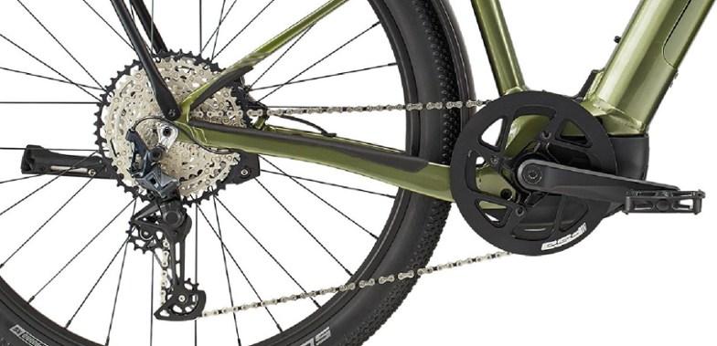 Chain rings of an electric bike