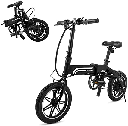 Swagtron Folding E-Bike