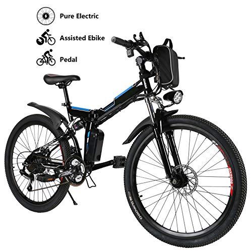 Yiilove 26'' Electric Mountain Bike