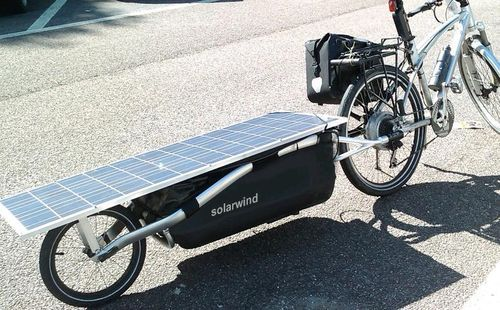 solar powered e bike