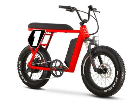 Scrambler mini bike red