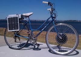 solar charging an ebike