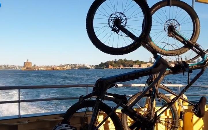 take your e-bike on a ferry