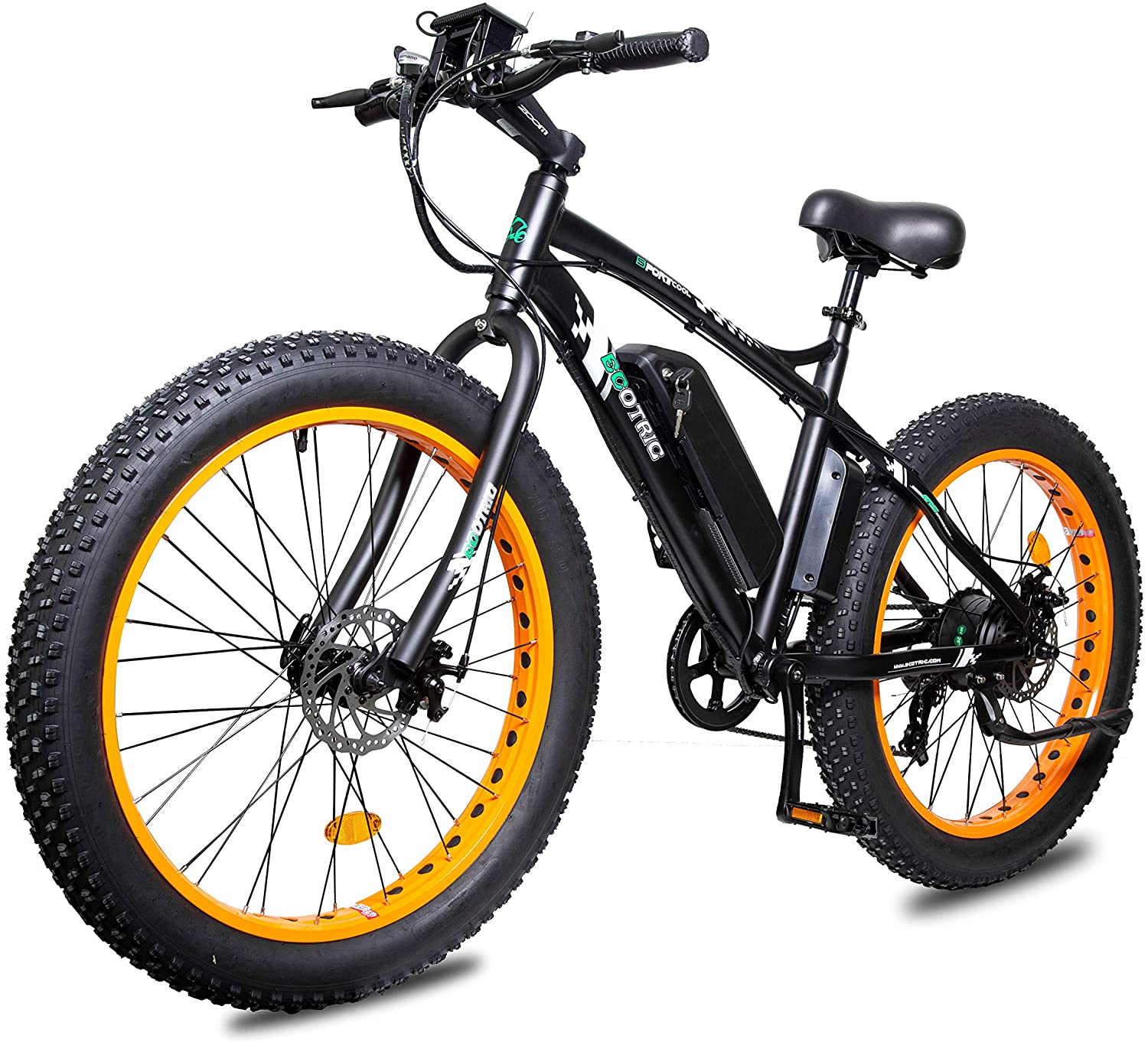 Ecotric powerful fat-tire electric bike