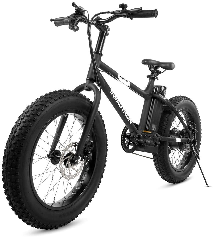 Swagtron EB-6 Bandit Fat Tire E-Bike